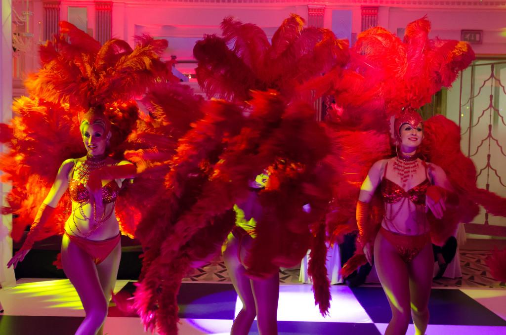 Can Can Dancers – Dubai Ball